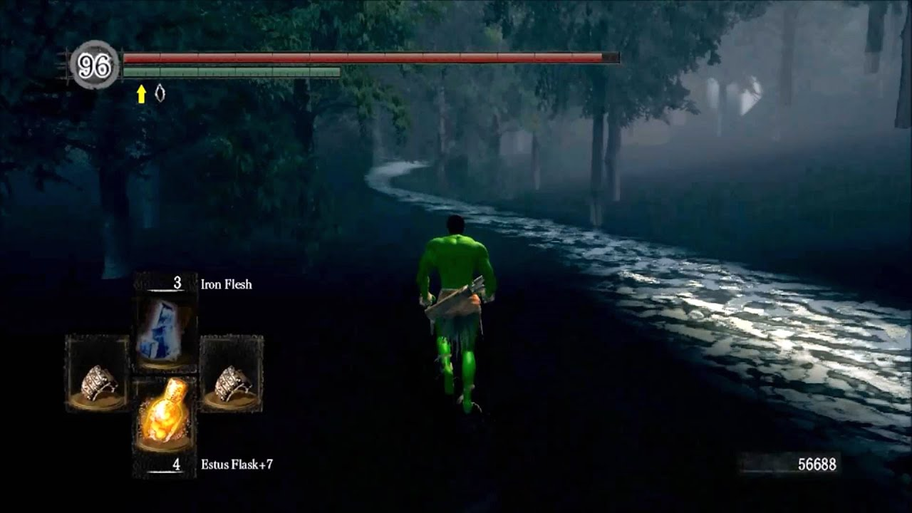 Dark Souls - Out of Map Glitches & Sneaky Spots - YouTube on