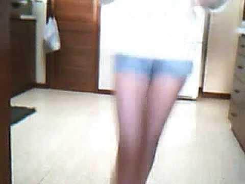 Kaylene shuffling(aka me)