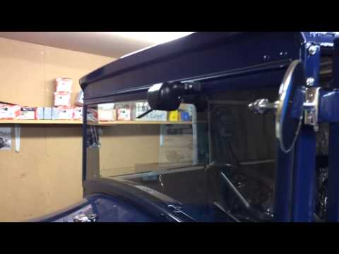 Windshield Wiper Motor >> 1928 Ford Model A Tudor - Electric windshield wiper - YouTube