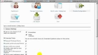 dotnetnuke tutorial newsletter subscription with opt in module by datasprings video 162