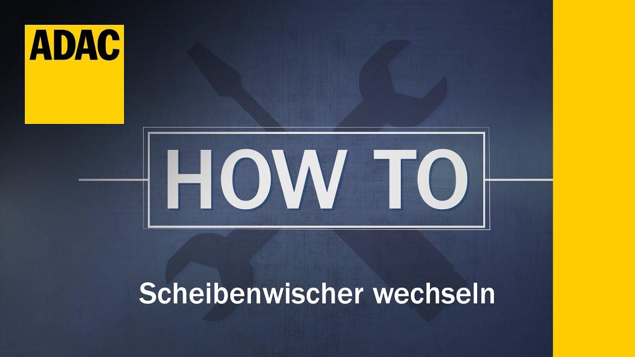 adac how to scheibenwischer wechseln folge 11 youtube. Black Bedroom Furniture Sets. Home Design Ideas