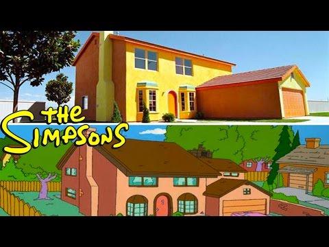 6 Casas REALES Inspiradas En Dibujos Animados