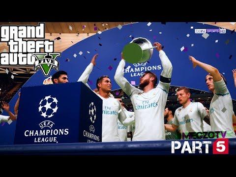 CRISTIANO RONALDO GTA 5 REAL LIFE MOD #1 FINAL UEFA CHAMPIONS LEAGUE