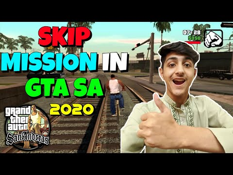 EASIEST WAY TO SKIP MISSION IN GTA SAN ANDREAS