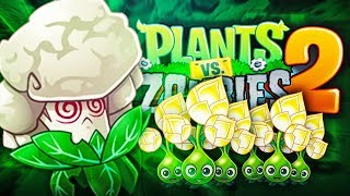 Plants vs Zombies 2 - CAULIPOWER BATTLEZ?!
