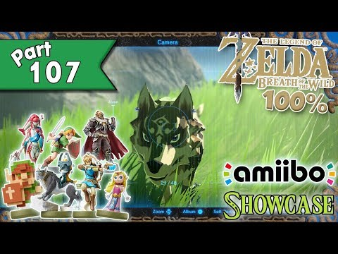 Legend Of Zelda: Breath Of The Wild 100% Walkthrough Part 107 - Amiibo Showcase!