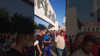 بغداد مظاهرات ساحة التحرير الاعداد بتزايد