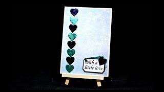 DIY Geschenk basteln mit Papier | Herz Karte selber basteln zum Muttertag oder Geburtstag
