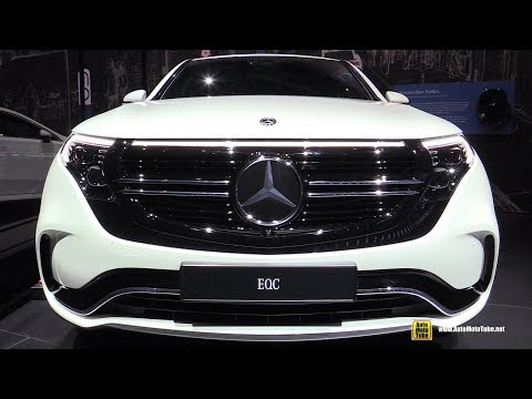 FIRST LOOK OF NEW MERCEDES EQC CONCEPT 2020 | EXTERIOR | SHOWCASED AT GENEVA MOTOR SHOW 2019