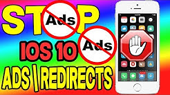 HOW TO BLOCK ADS [iOS 10 - 10.2.1] STOP REDIRECTS NO Jailbreak iPhone iPad iPod
