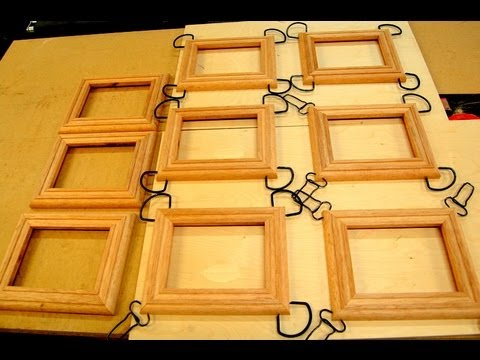 Woodworking - How to Make Picture Frame Moulding - Online Project ...