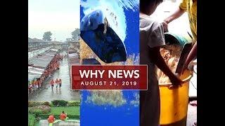 UNTV: Why News (August 21, 2019)