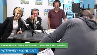 Did Barbara Corcoran Help Greg T Become a Millionaire?   Elvis Duran Show