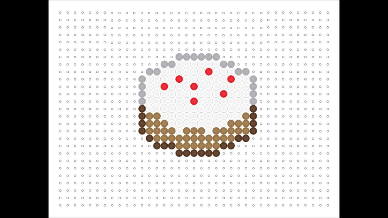 Hama Bead Cake Minecraft Series 15 Youtube