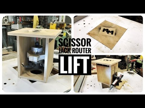 DIY Router Lift