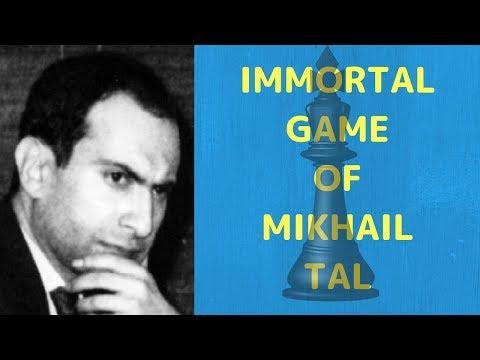 Mikhail Tal's Immortal Chess Game [Hindi]