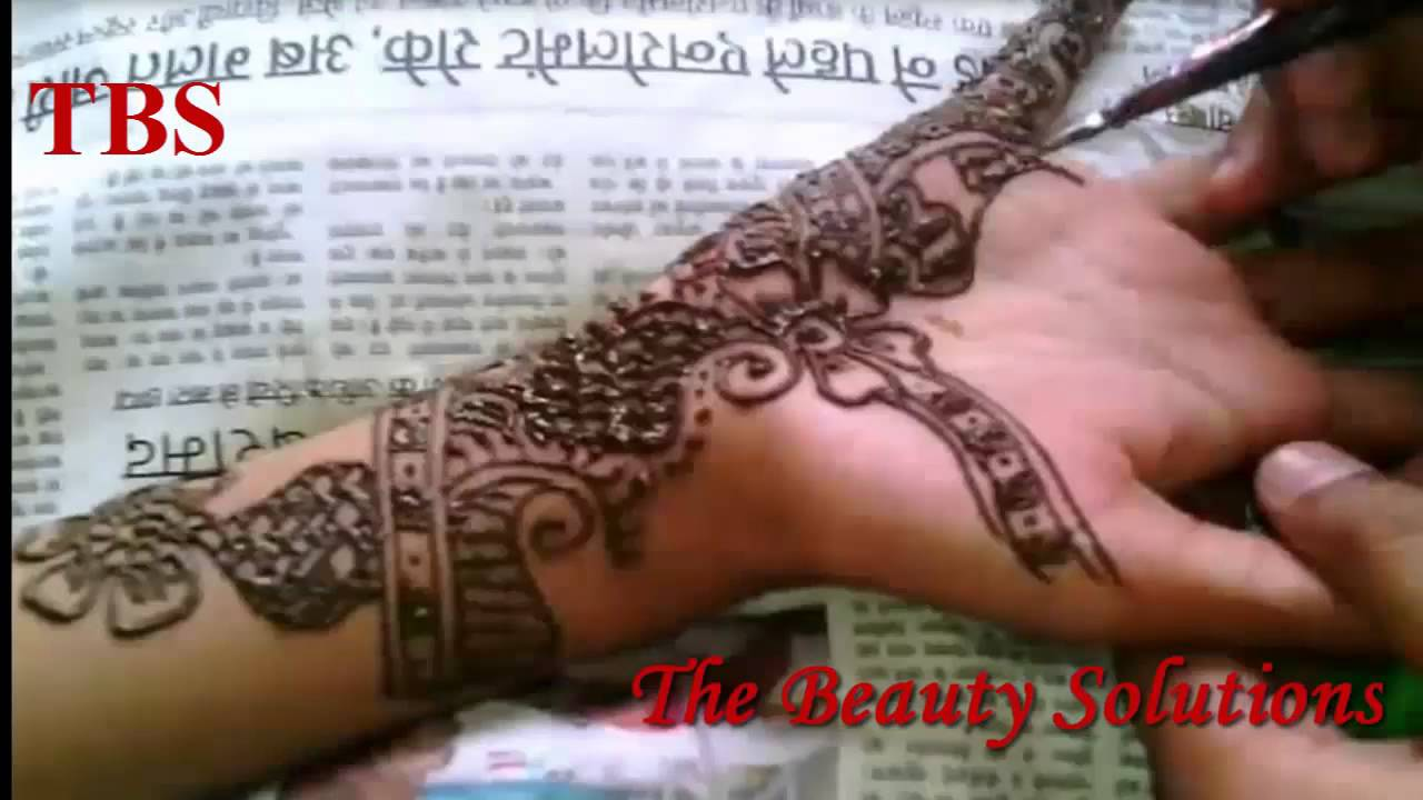 Best Latest Easy Simple Arabic Mehndi Designs For Kids Hands Step By