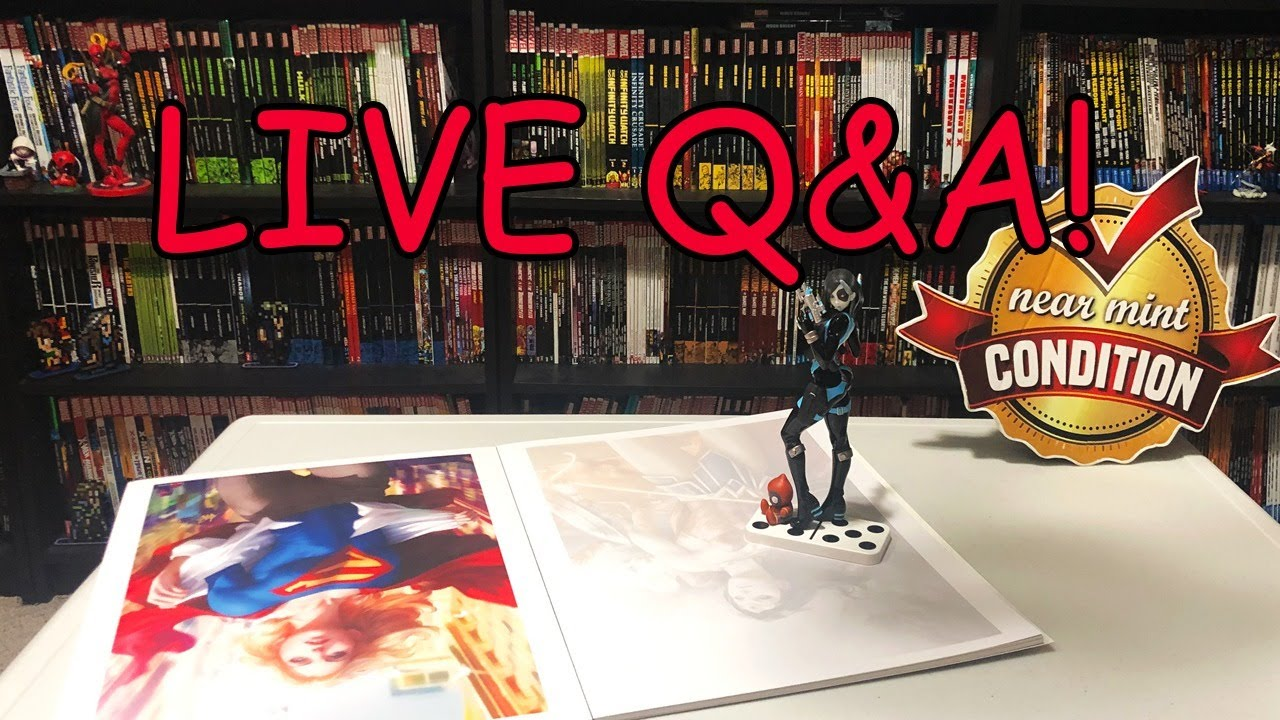 Q&A and Comics Talk!