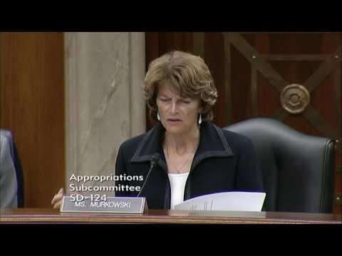 Senator Murkowski's Comments on Contract Support Costs and Budget Cuts During IHS Hearing