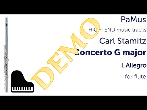 Carl Stamitz Flute concerto in G major 1st movement