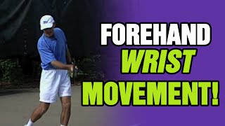 Tennis Forehand - Correct Wrist Movement During A Forehand