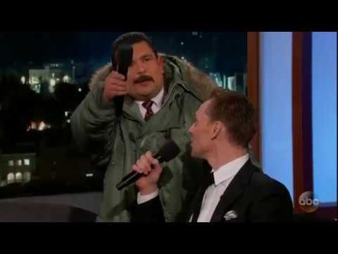 Tom Hiddleston tries to sing Cielito Lindo on Jimmy Kimmel Live!