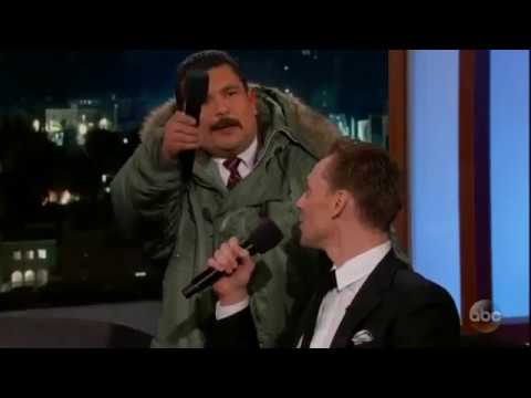 Tom Hiddleston tries to sing Cielito Lindo on Jimmy Kimmel Live!