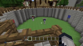 Minecraft - How to Build a PvP Battle Mini Game on Xbox One!