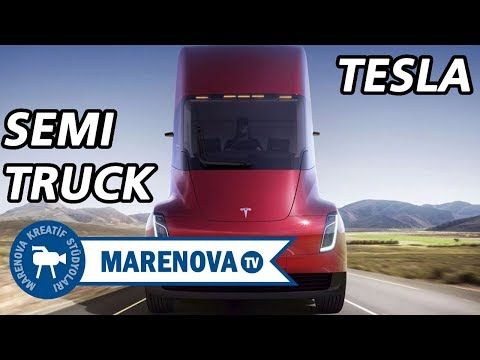 Tesla's New Toy Roadster 2.0 and Semi Truck - Elon Musk introduce the new Tesla.