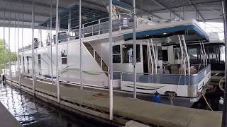 2013 Sailabration 16 x 66WB Pontoon Houseboat For Sale on the Tennessee River near Knoxville TN thumbnail