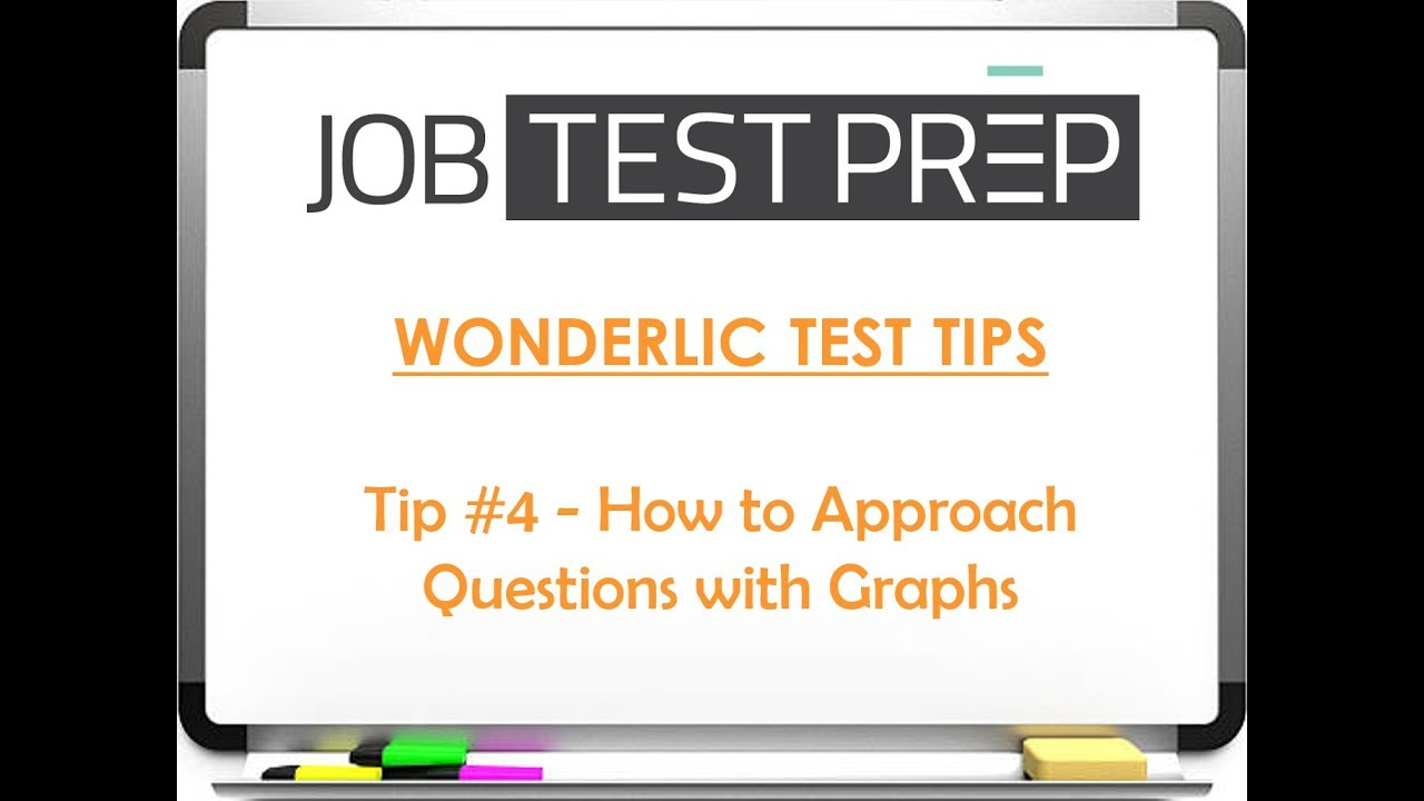 Wonderlic Test Tips Tip 4 How To Roach Questions With Graphs