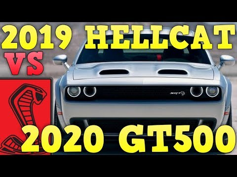 Dodge Challenger Hellcat Redeye VS  Ford Mustang GT