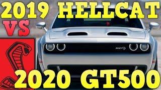 2019 Dodge Challenger Hellcat Redeye VS 2020 Ford Mustang GT500