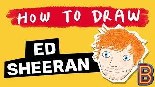 How to Draw Ed Sheeran