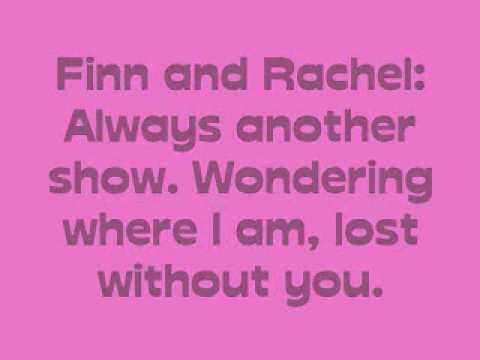 Faithfully - Glee Cast - Lyrics - YouTube