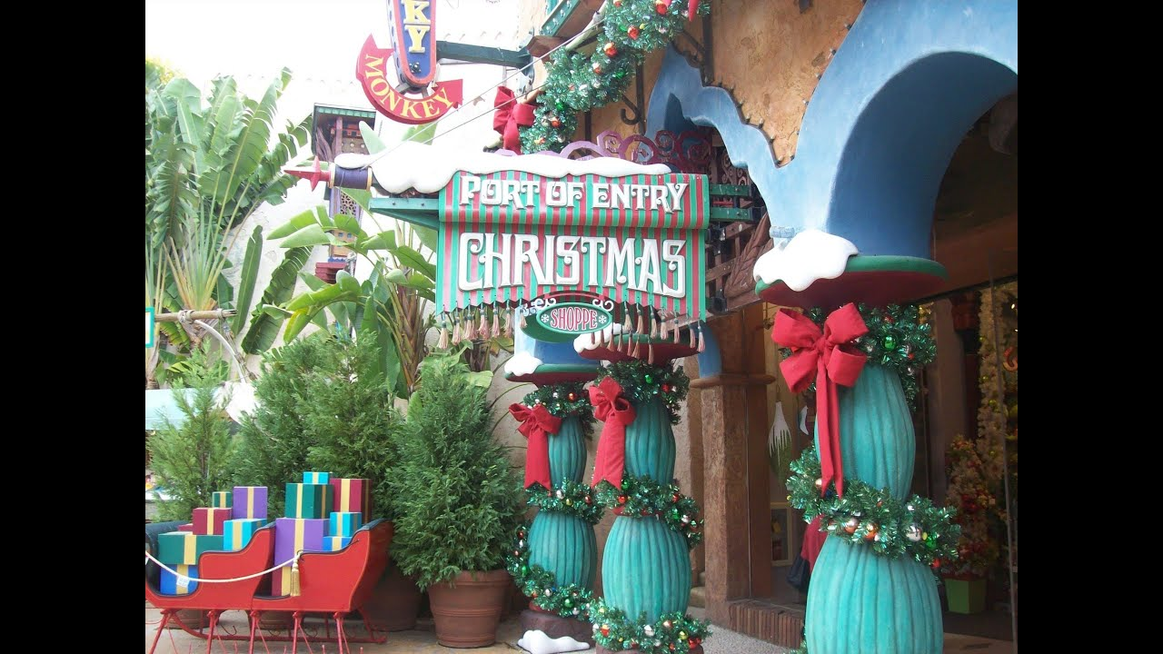 Islands of Adventure Port of Entry Christmas Shoppe 2013 Universal ...