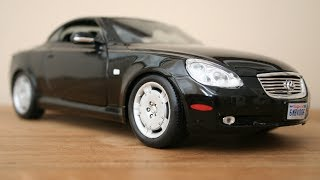 Review: 1:18 Lexus SC 430 by Maisto - The Model Garage