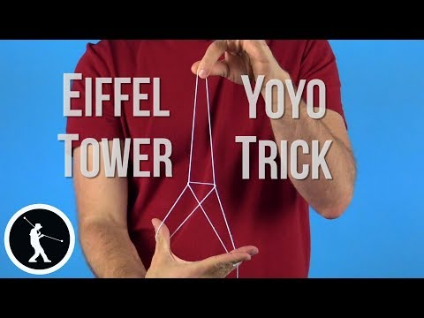 Eiffel Tower Yoyo Trick - Learn How
