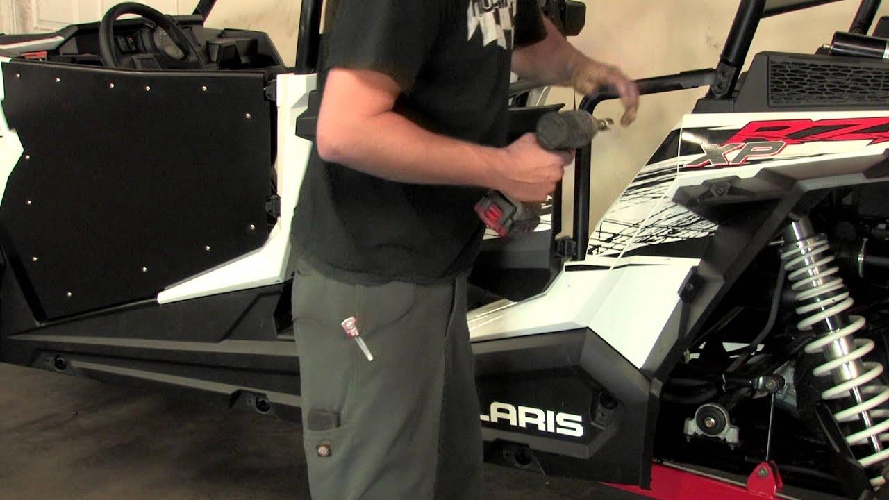 RZR4 1000 Doors Installation & RZR4 1000 Doors Installation - YouTube