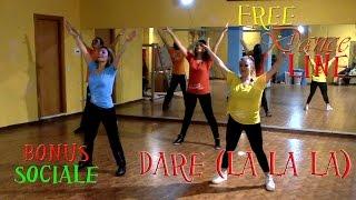 Free Dance Line - BONUS Sociale - Dare (La La La) by Shakira (Balli di Gruppo 2014)