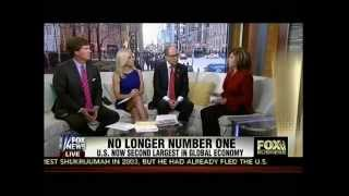 No Longer Number One - U.S. Now Second Largest In Global Economy - Maria Bartiromo - Fox & Friends