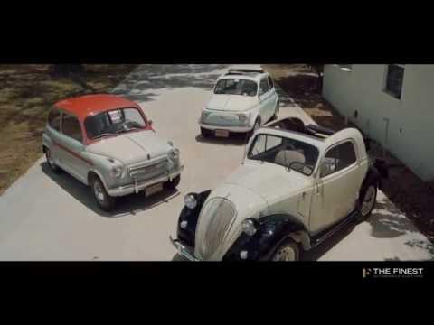 3 Fiats - Dante Giacosa Collection
