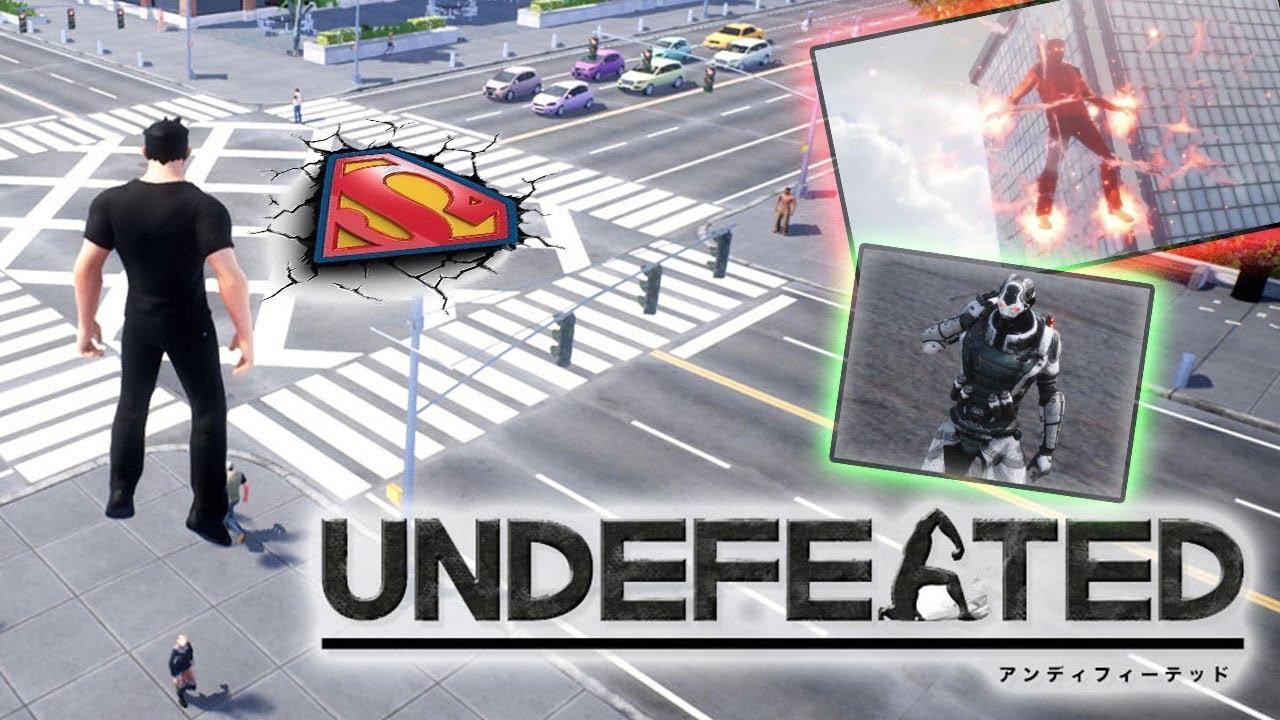 UNDEFEATED || اللعبة شبيهة سوبرمان