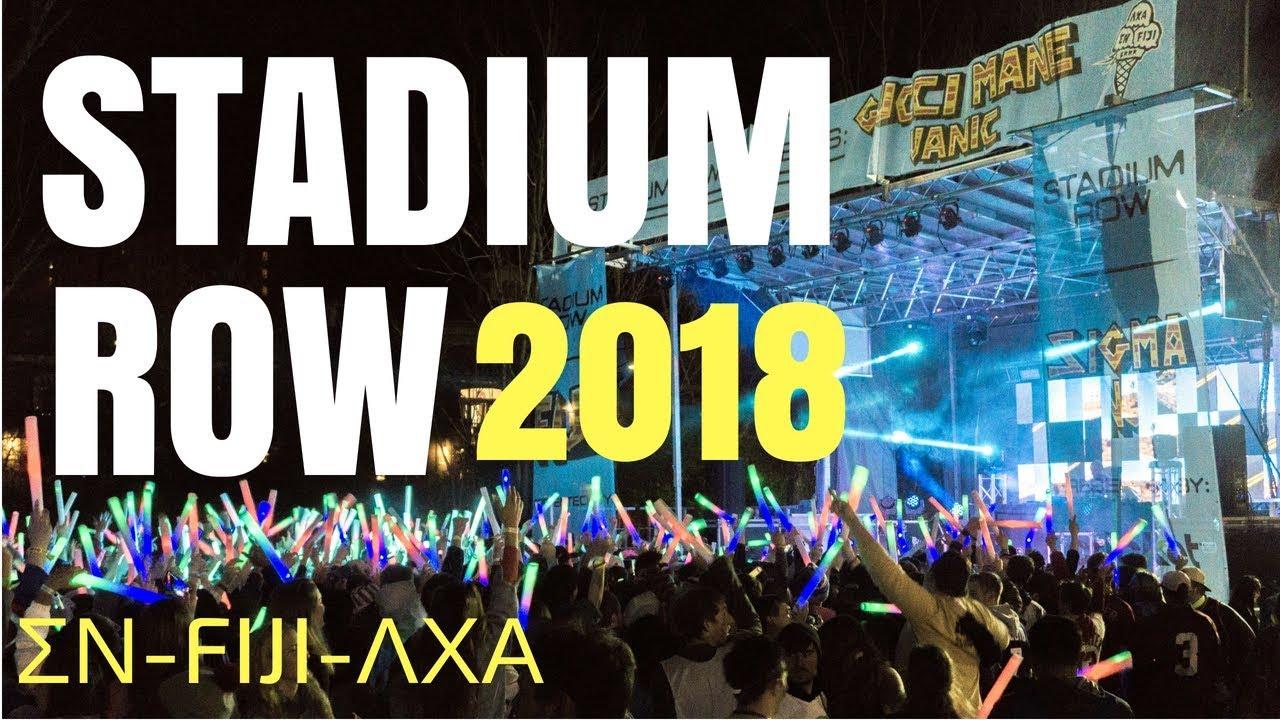 ROW WEEK 2018 at University of Arkansas - ΣΝ, FIJI, & ΛΧΑ - (Feat. Gucci Mane)