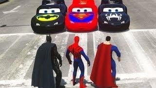 video para criançinha - batman / superman / homem aranha / relampago mcqueen / corrida