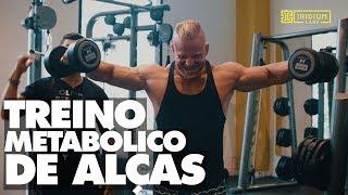 Um treino metabólico de alças musculares insano para quem quer trincar