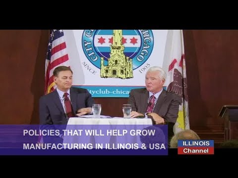 Policies Needed to Increase Manufacturing in Illinois and Across America