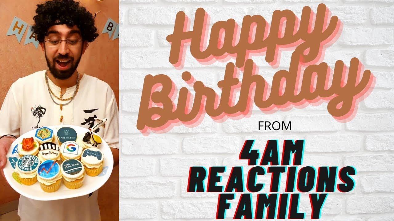 Ankit's Birthday Bash Vlog || 4AM Reactions