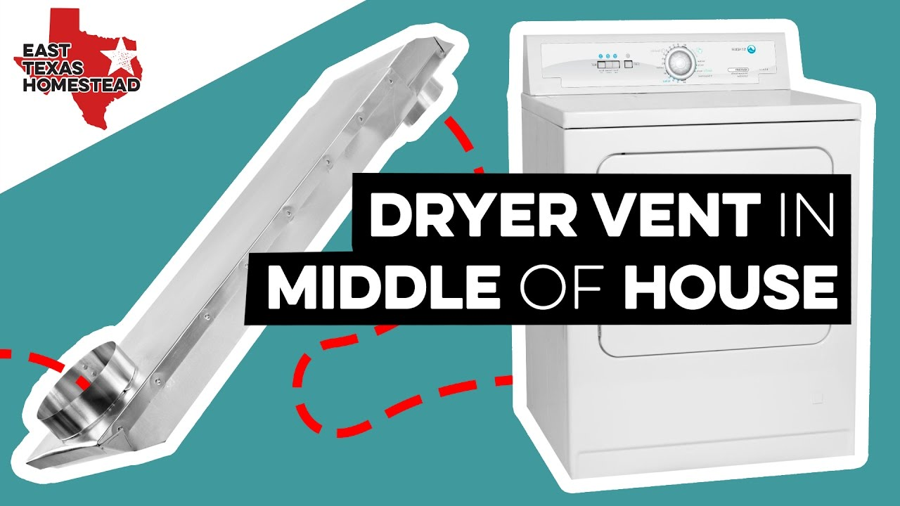 Installing Dryer Vent In Middle Of House Diy Mobile Home