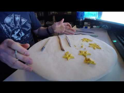 aromatherapy-oil-holders-set-#3-golden---sculpting-timelapse.